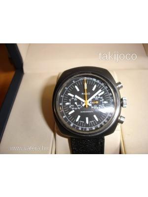 REGO fekete egyedi mechanikus chronograph karóra    lejárt 393368 25cb4ee96a