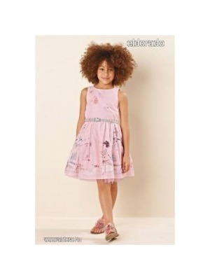 c64fd8ac1e Next 13/4 gyönyörűséges rajzos kislányos bicajos pillangós ruha 9év Minden  1Ft-ról!