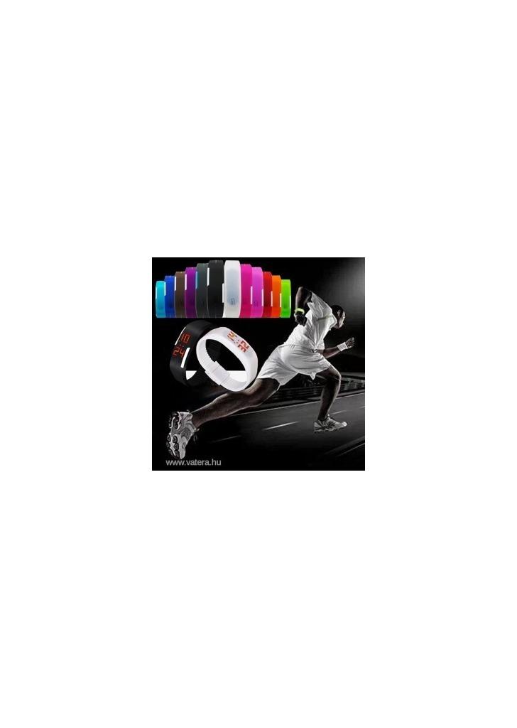 Új divatos Sport LED szilikon gumi érintőképernyős digitális vízálló ba5a92f04f