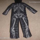 F F csontvázas fiú 1be részes polár pizsama 7-8 éves (1004)    4a64a10f43
