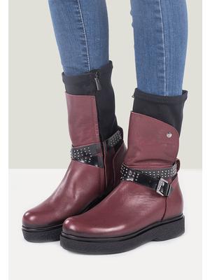 Judita gránát női platform cipő - Zapatos 61a86ff106