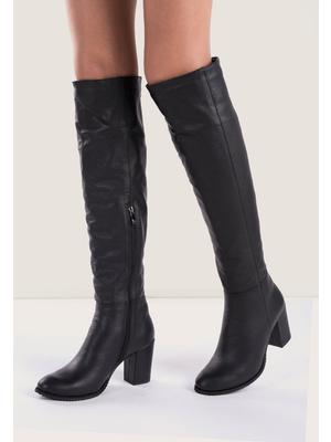 Svetlana ii fekete magassarkú csizma - Zapatos a830ddbd4e