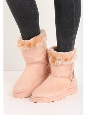Chika pink női csizmák - Zapatos f8bc1f0ec7