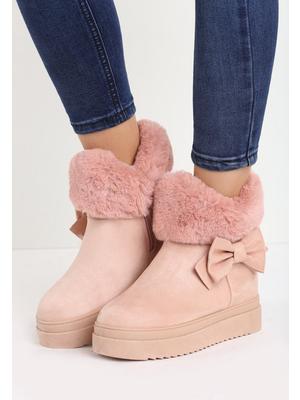 Kaori rózsaszín platform csizma - Zapatos 8ee002de8f