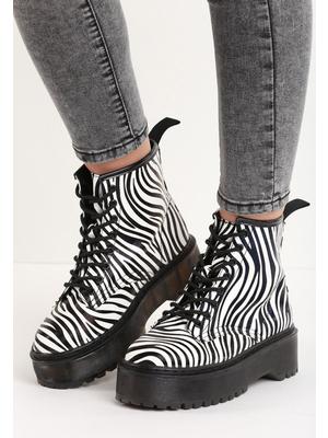 Milena zebra női platform cipő - Zapatos 2dd49b6d85
