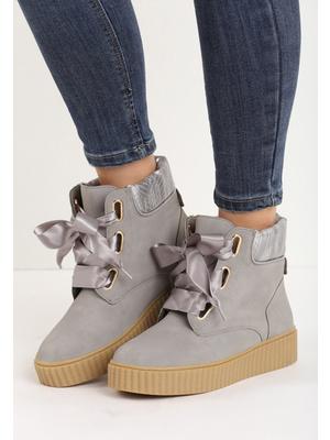 Andromeda szürke női platform cipő - Zapatos 7239079777