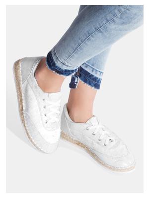 Olivia fehér női tornacipő - Zapatos 221fa1a6ce