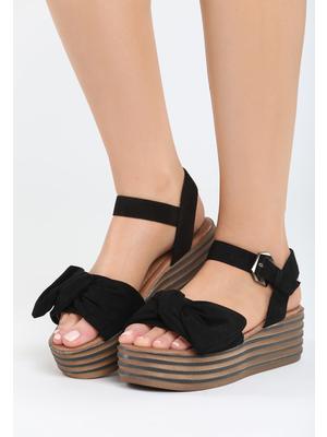 Aneas fekete platform szandál Zapatos, 8 500 Ft | 17592 <<