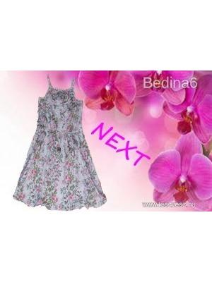 265be85604 NEXT könnyű-lenge virágos ruha 116-os méretben (6 év) - Vatera, 522 Ft