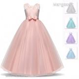 5784f737e5 Koszsorúslány, elsőáldozó ruha, elegáns, alkalmi lányka ruha,, több  színben,méretben
