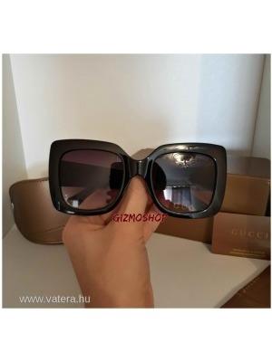 Gucci divatos napszemüveg - full fekete utolsó darabok    lejárt 512231 c6919ce785
