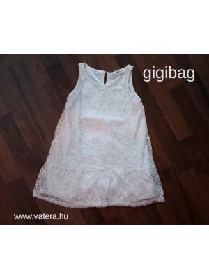 501d4f8a14 H&M kislány fehér alkalmi ruha, csipkeruha 4-5 évesnek, 110 - Újszerű!
