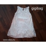 0df7243b22 H&M kislány fehér alkalmi ruha, csipkeruha 4-5 évesnek, 110 - Újszerű!