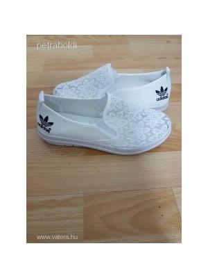 Csipke fehér Adidas cipő Új 39-es NMÁ    lejárt 73116 8edb6ce768