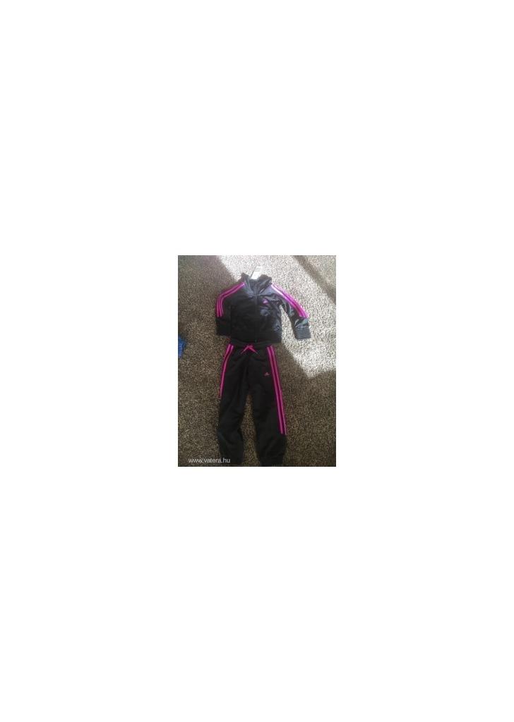 bbab4236e1 ÚJ Adidas lány melegítő 116-os méretben - Vatera, 6 000 Ft   #282358