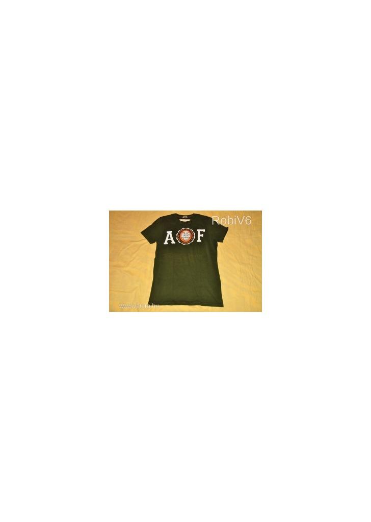 f1dfeeb34 ABERCROMBIE & FITCH divatos férfi póló - Vatera, 2 700 Ft