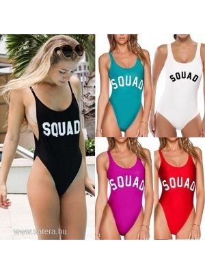 1x Szexi női fürdőruha egyrészes Monokini bikini feliratos 5 színben     lejárt 723342 df3d4df5a3
