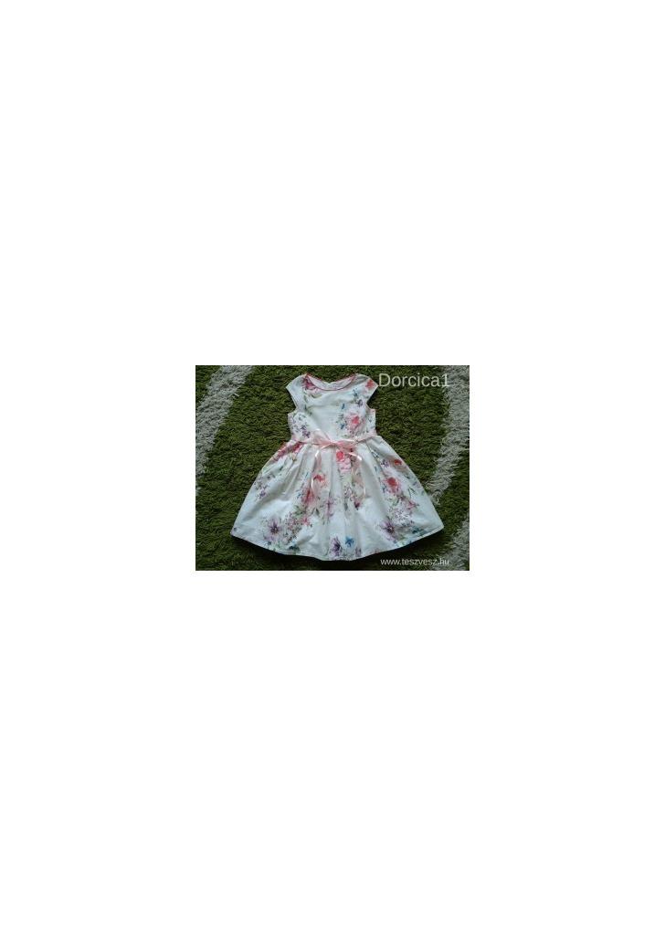dc4e29d3ca Szépséges színes virágos NEXT ruha , 4 év , 104 - Vatera, 1 600 Ft