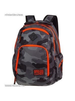 Cool Pack Break Terepszínű iskolai hátizsák - 29 literes - Camo Orange Neon     lejárt ea7663fc6f