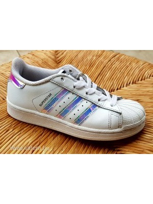 baab7ed9de Adidas Superstar különleges, nagyon csajos, fehér bőr cipő << lejárt 431847