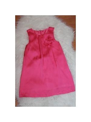 84b8c3f0b3 C&A Palomino gyönyörű selyem rózsás szatén alkalmi ruha 110-es << lejárt  283092