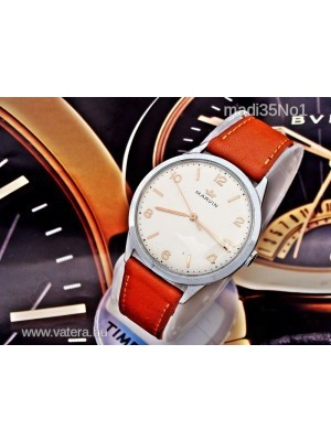 Igazi ritkaságGyönyörű nagyméretű Marvin óra az 1950-es évekből - 7255700b3e
