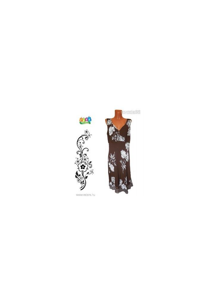 6ba84c9824 MARKS & SPENCER 20-as (48/50) barna - fehér mintás, kétrétegű