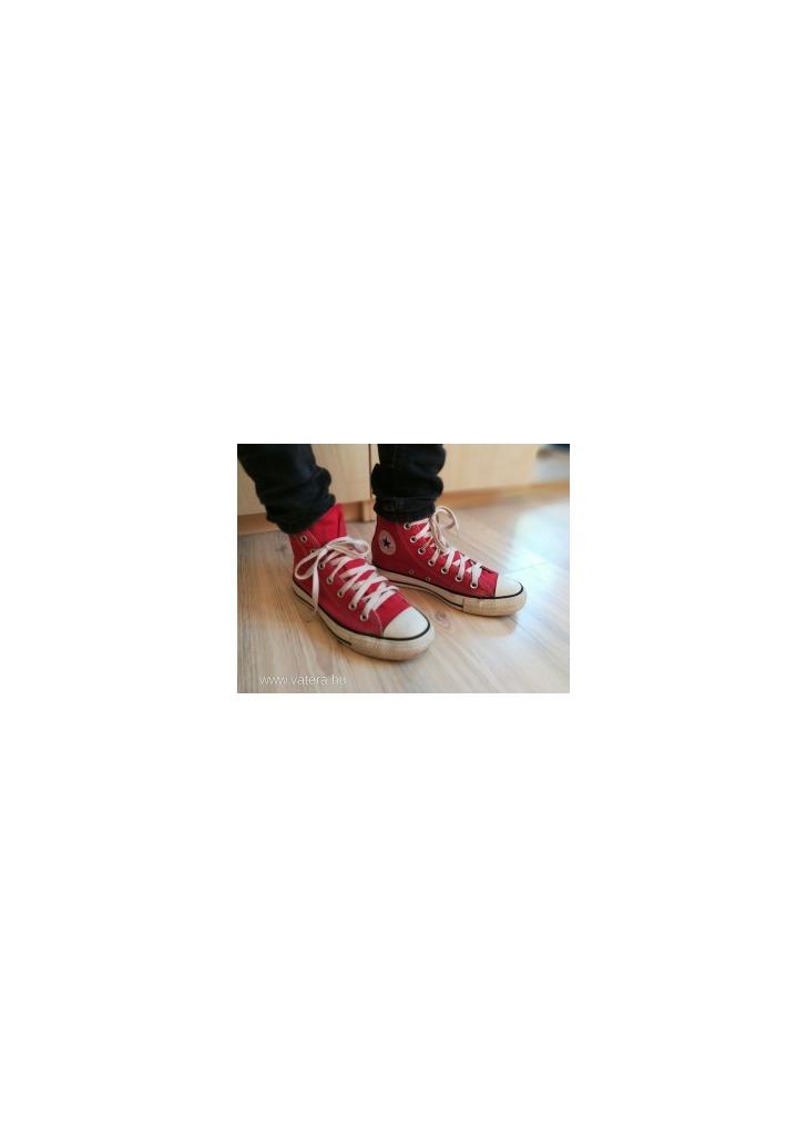 c361372c68 36,5-es eredeti CONVERSE unisex magasszárú vászon, utcai torna cipő