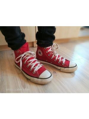 611885392b 36,5-es eredeti CONVERSE unisex magasszárú vászon, utcai torna cipő eladó <