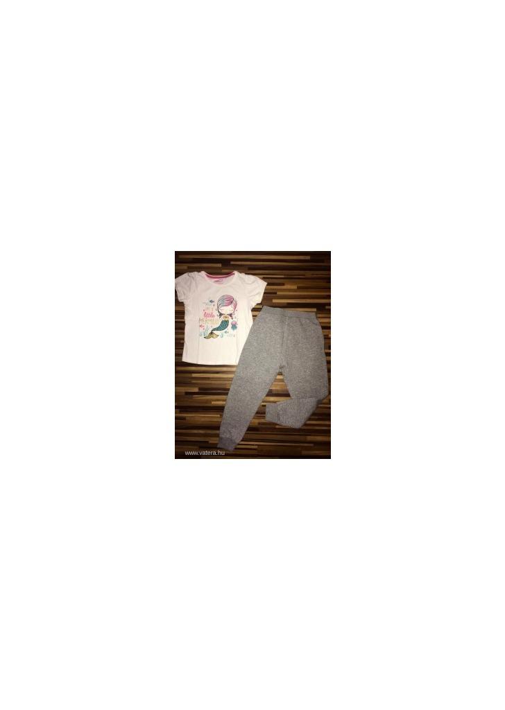 2515f8fa69 Lupilu 110-116-os melegítő nadrág és Y. D sellős póló kislánynak