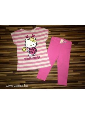 H M 104-110-es hello kitty kislány tunika 3 4-es leggings szett rengeteg  aukció 1 ft-ról   ) e694435825