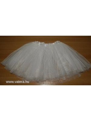 92a9f542fe Tütü tüll szoknya balett FEHÉR KÉSZLETEN - Vatera, 990 Ft | #295635