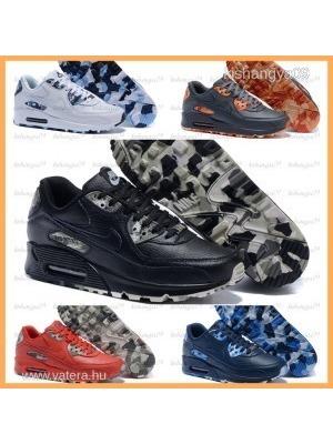 d1fb9d9a04 Férfi Nike Air Max 90 bőr cipő 5szín vízálló SZUPER AJÁNLAT << lejárt 415773