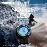 1x Férfi SKMEI Sport óra LED digitális vízálló katonai Quartz Analóg Karóra e87fa9b904
