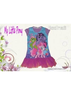 d0752c46d1 Tüll fodros My Little Pony-s tunika 128-as méretben (8 év) - Vatera, 1