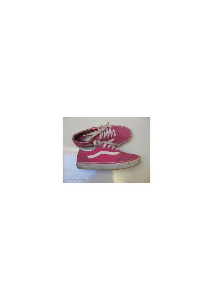 Vans lány old skool trendi kedvenc 35-ös szép cipő 22 cm - Vatera 7f179b72eb