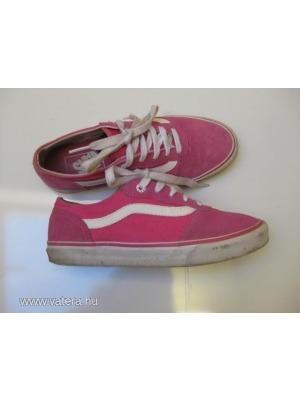 Vans lány old skool trendi kedvenc 35-ös szép cipő 22 cm    lejárt 830d0cad39