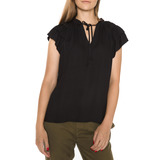 Scotch & Soda Top Fekete