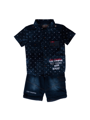 Lee Cooper - East London Since 1908 navy baba öltözék << lejárt 486841