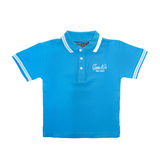 Tom Jo polo light blue fiú póló
