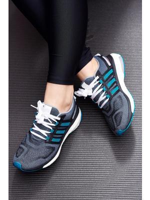 Zöld Adidas hétköznapi sport cipő a talp nagyon könnyű fűzővel köthető meg     lejárt 669300 6d799e1e87