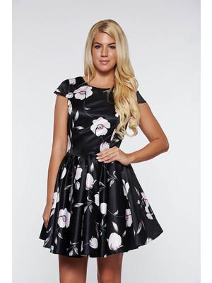 Fekete Artista alkalmi harang ruha szatén anyagból belső béléssel    lejárt  203851 2a6b426214