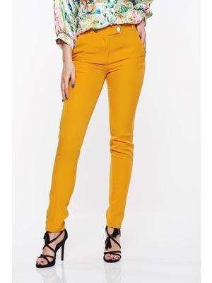 2c581519ba Mustar PrettyGirl nadrág irodai kónikus enyhén elasztikus szövet zsebes <<  lejárt 152055