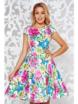 a7a028d6bb Pink StarShinerS alkalmi harang ruha szatén anyagból belső béléssel enyhén  rugalmas anyag