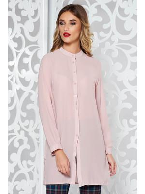 2962f03c0e Rózsaszínű női ing elegáns bő szabású enyhén áttetsző anyag << lejárt 245238