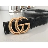 c4a8060601 Gucci fekete öv arany színű csattal azonnal vihető ÚJ << lejárt 478047