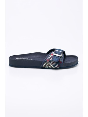 Desigual - Papucs Exotic Denim