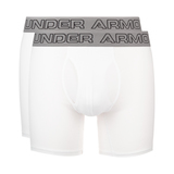 "Under Armour Charged Cotton® Stretch 6"" Boxeralsó 3 db Fehér"