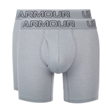 "Under Armour Charged Cotton® Stretch 6"" Boxeralsó 3 db Szürke"