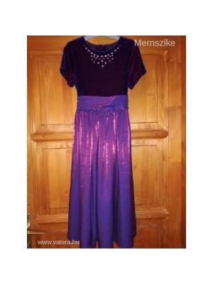 cb515722f7 Marks & Spencer gyönyörű lila alkalmi ruha, 8 év - Vatera, 2 300